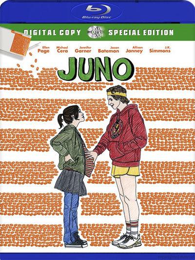 Джуно / Juno (Джейсон Рейтман / Jason Reitman ) [2007 г., Комедия, мелодрама, драма, HDRip-AVC] DUB + ENG + SUB(RUS)
