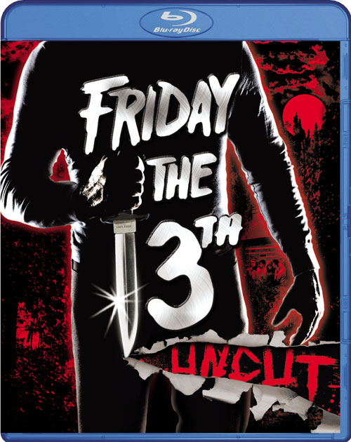 ... & Cover Art » Archive » 'Friday the 13th' Blu-ray Cover Art